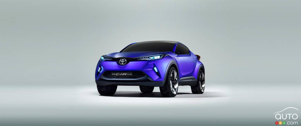 toyota lancerait un vus compact pour rivaliser nissan actualit s automobile auto123. Black Bedroom Furniture Sets. Home Design Ideas