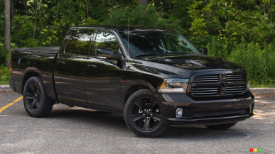 2015 RAM 1500 Black Sport Crew Cab Review