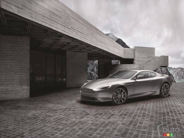 Aston Martin creates DB9 GT Bond Edition for 007 fans