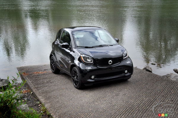2016 smart fortwo coupe First Impression