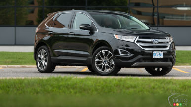 2015 Ford Edge Titanium AWD 2.0L EcoBoost Review