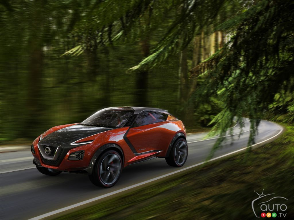 Frankfurt 2015: Nissan Gripz concept answers many questions