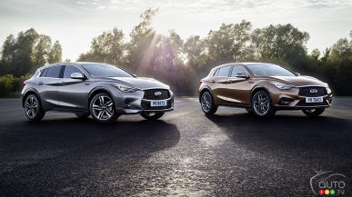 Frankfurt 2015: All-new Infiniti Q30 debuts in production form