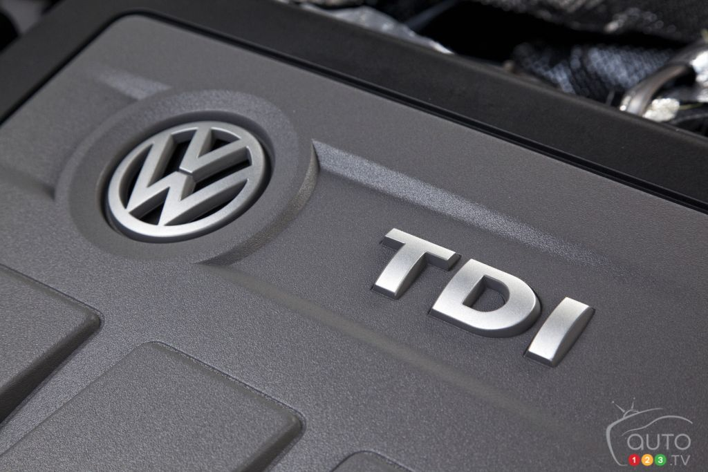 Volkswagen TDI has a black cloud over it
