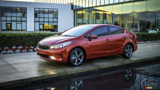 Detroit 2016: Kia Forte gets new design, engine and tech for 2017