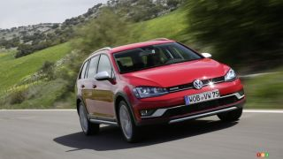 Montreal 2016 : Canadian debut of 2017 VW Golf Sportwagon All-Track