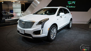 Cadillac XT5 Luxury Crossover Makes Canadian Premiere in Montreal