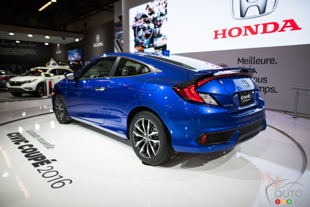 Mias 2016 2016 honda civic car news auto123 - Salon d auto montreal ...