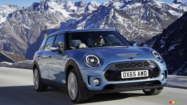 Meet the all-new MINI Clubman ALL4!