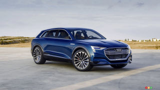 Audi's first-ever electric SUV to enter production in 2018