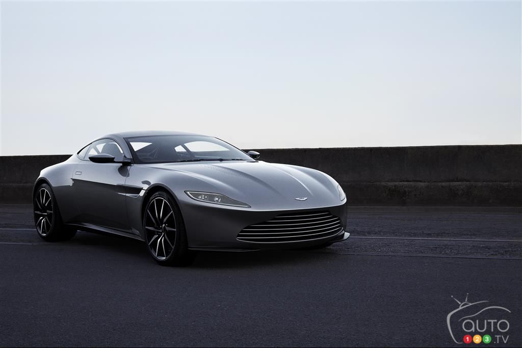 Charity Auction to Feature Bond's Aston Martin DB10 from Spectre