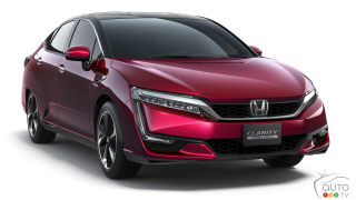Honda Clarity fuel-cell sedan going on sale in California soon