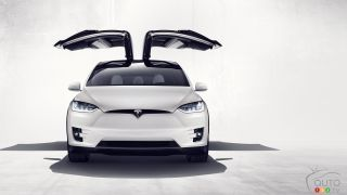 Tesla sues Hoerbiger, maker of Model X falcon-wing doors
