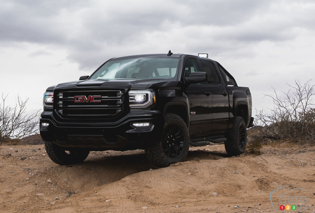 2016 gmc sierra all terrain x to go on sale this spring car news auto123. Black Bedroom Furniture Sets. Home Design Ideas