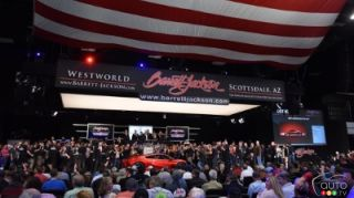 2017 Acura NSX fetches record amount at Barrett-Jackson auction