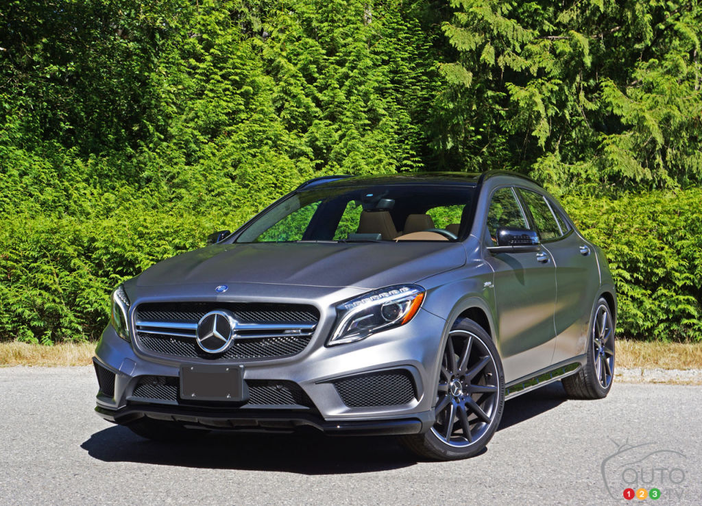 2016 Mercedes Gla 45 Amg 4matic Is The Boss Car Reviews