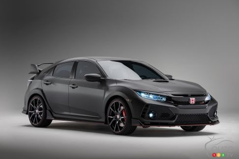 {u'en': u'The new 2017 Honda Civic Type R prototype'}