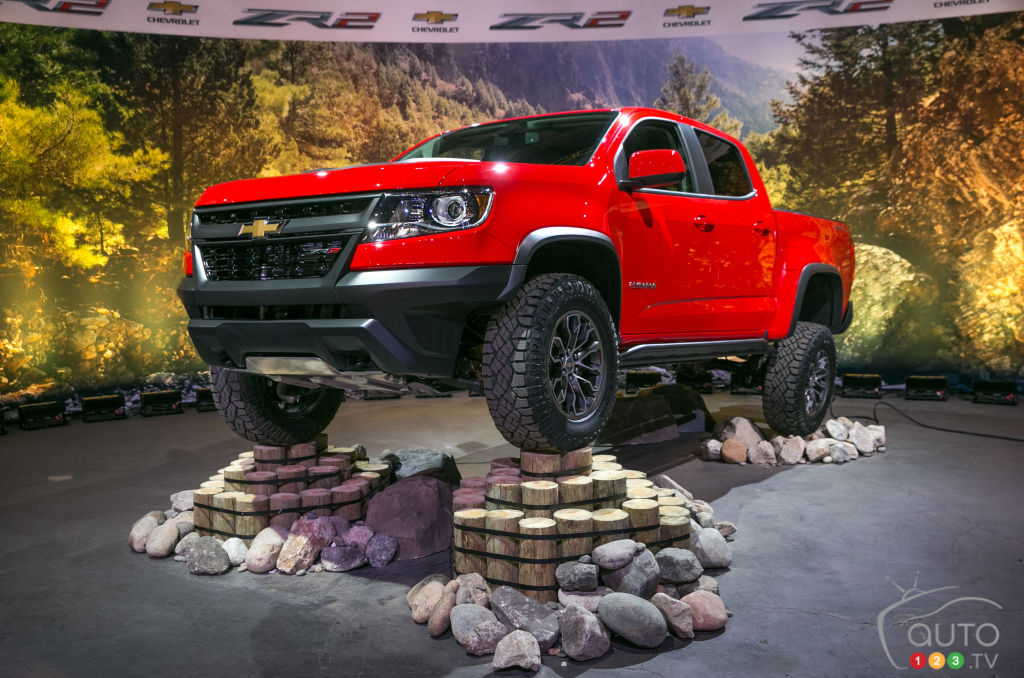 New Chevy Colorado ZR2 maximizes off-road capability | Car ...
