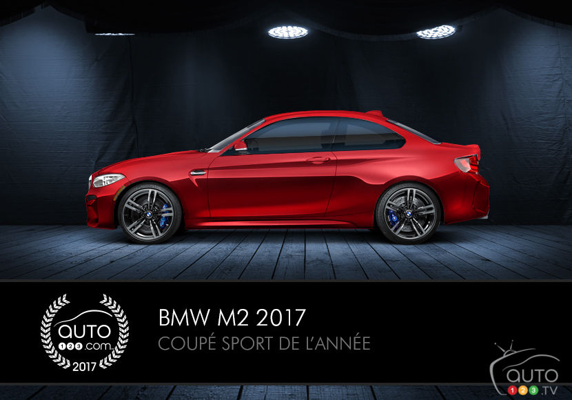 la bmw m2 remporte 2 autres prix actualit s automobile auto123. Black Bedroom Furniture Sets. Home Design Ideas