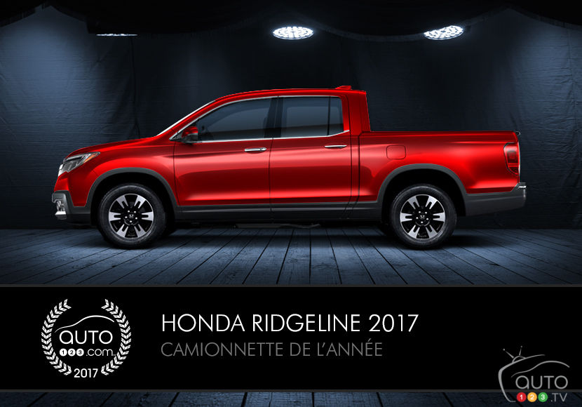 la honda ridgeline 2017 est notre camionnette de l ann e actualit s automobile auto123. Black Bedroom Furniture Sets. Home Design Ideas