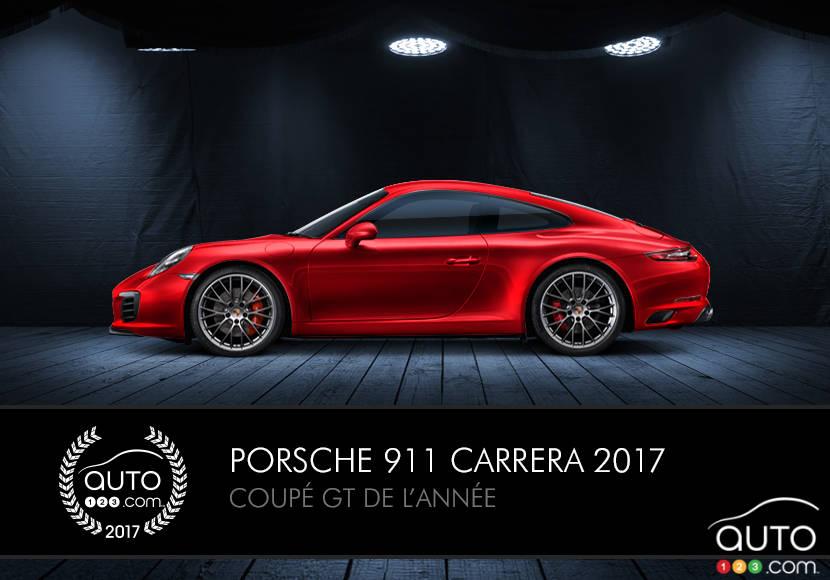la porsche 911 2017 coup gt de l ann e selon actualit s automobile auto123. Black Bedroom Furniture Sets. Home Design Ideas