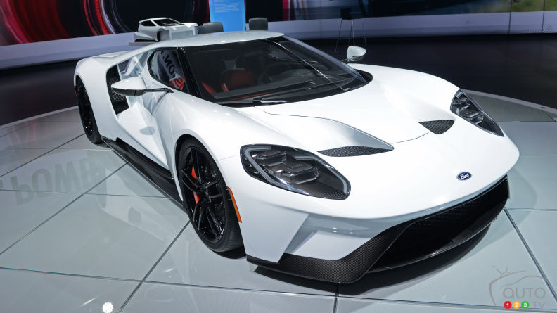 Ford GT's 250-unit run available to select customers only