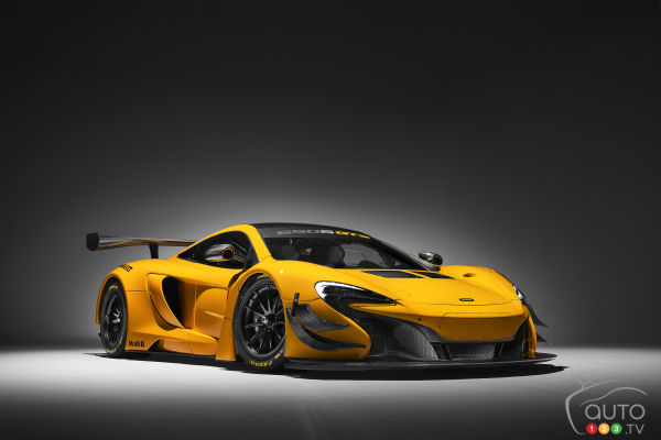 McLaren 650S GT3 to appear at 2016 Geneva Auto Show