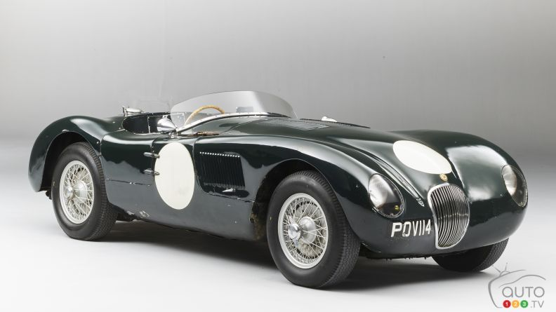 Bonhams to Auction Well-Preserved 1950s Jaguar C-Type at Monaco