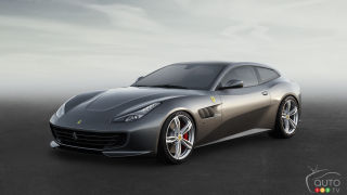 New Ferrari GTC4 Lusso to debut at Geneva Auto Show
