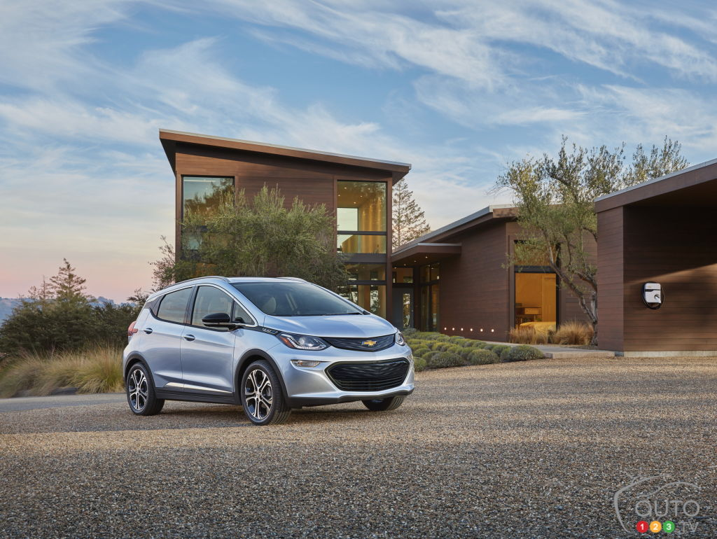 The new 2017 Chevrolet Bolt EV