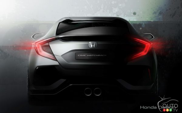 Honda Civic Hatchback concept to be unveiled in Geneva