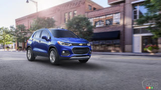 2017 Chevy Trax introduced ahead of Chicago Auto Show