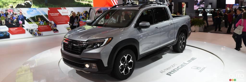 Toronto 2016: All-new Honda Ridgeline