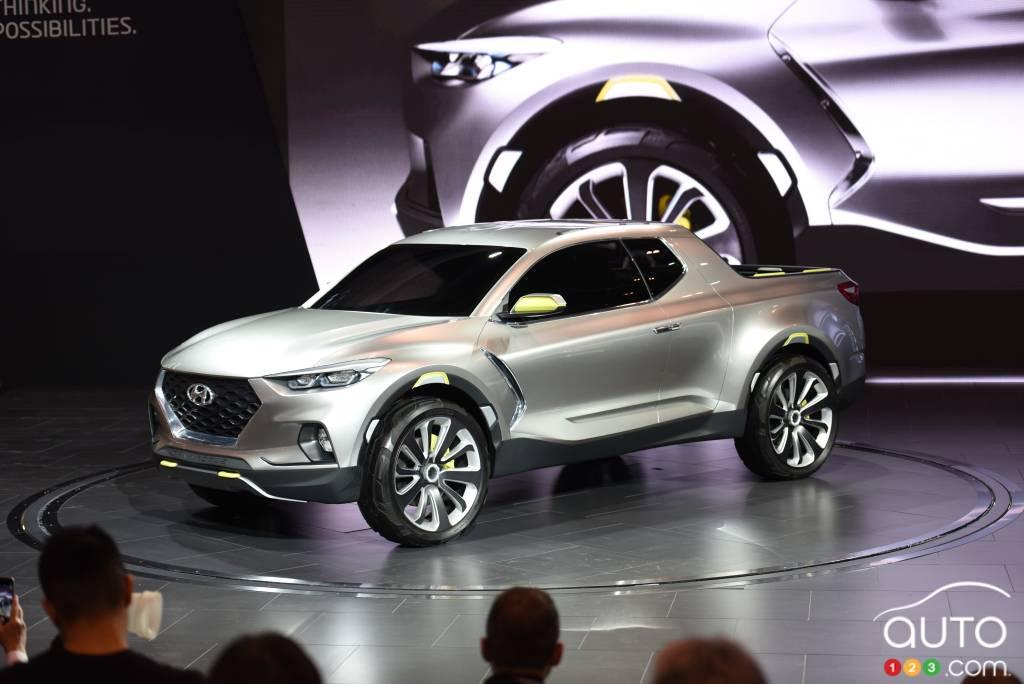 Hyundai Santa Cruz concept hits Toronto Auto Show | Car ...