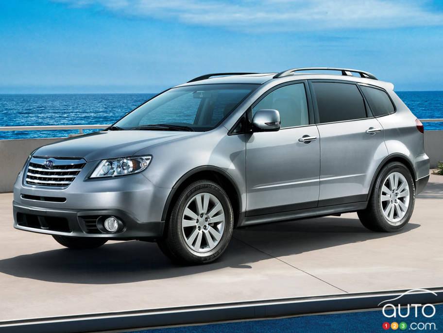 Nearly 6 000 Subaru Tribeca Cuvs Recalled In Canada Car