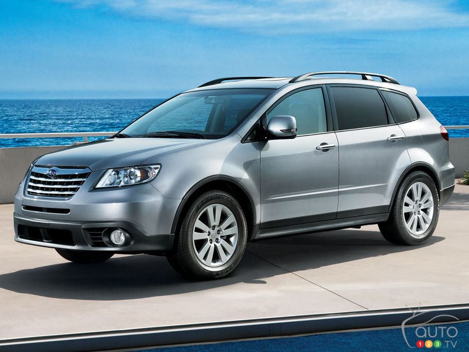 nearly 6 000 subaru tribeca cuvs recalled in canada car. Black Bedroom Furniture Sets. Home Design Ideas
