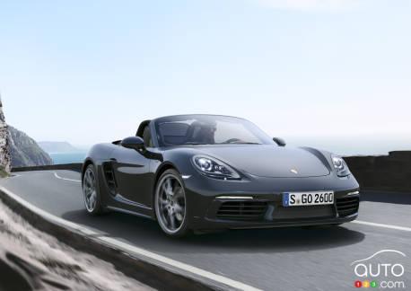 {u'fr': u'La Porsche 718 Boxster'}