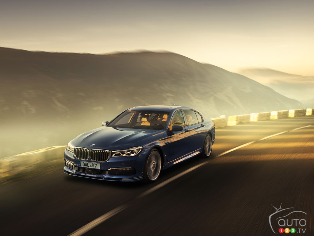Allnew BMW ALPINA B7 BiTurbo puts 600 hp to the ground  Car News