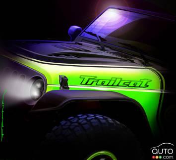 "{u'en': u'The Jeep Wrangler ""Trailcat"" concept'}"