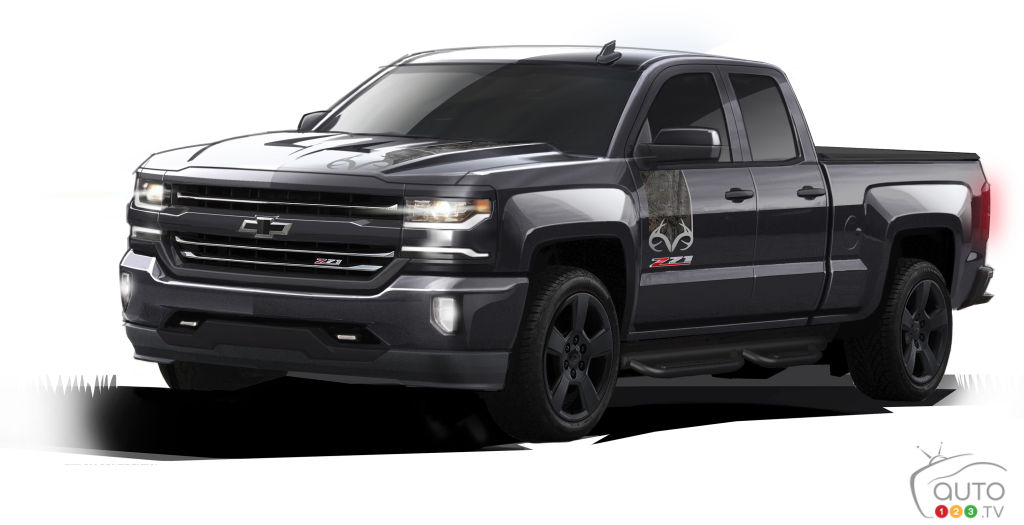 chevy silverado realtree edition confirmed for canada car news auto123. Black Bedroom Furniture Sets. Home Design Ideas