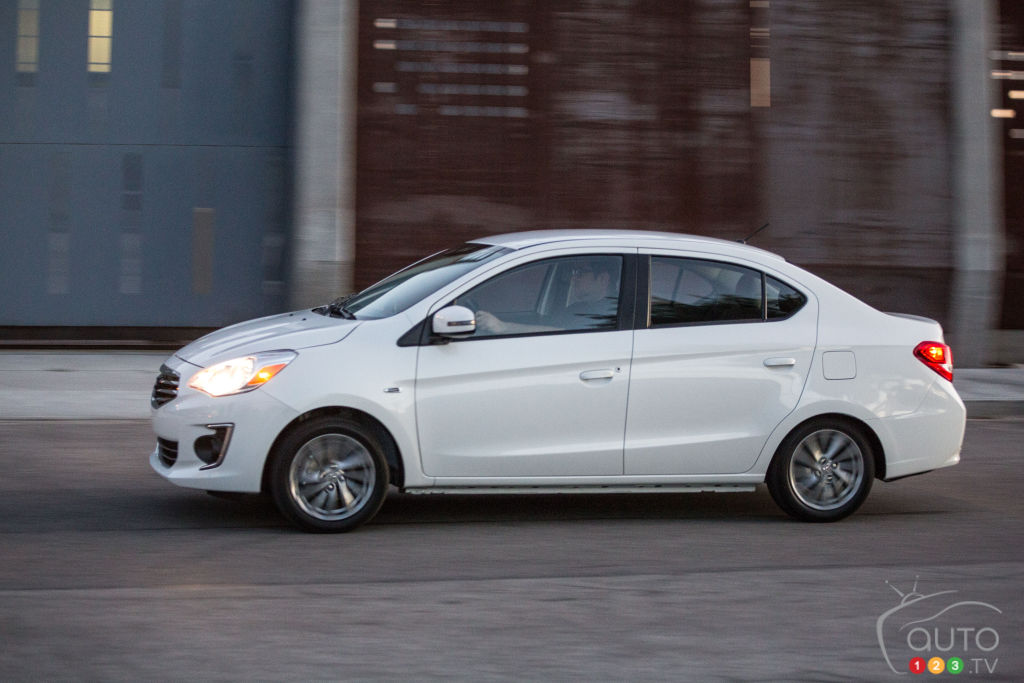2017 Mitsubishi Mirage G4 unveiled in New York | Car News | Auto123