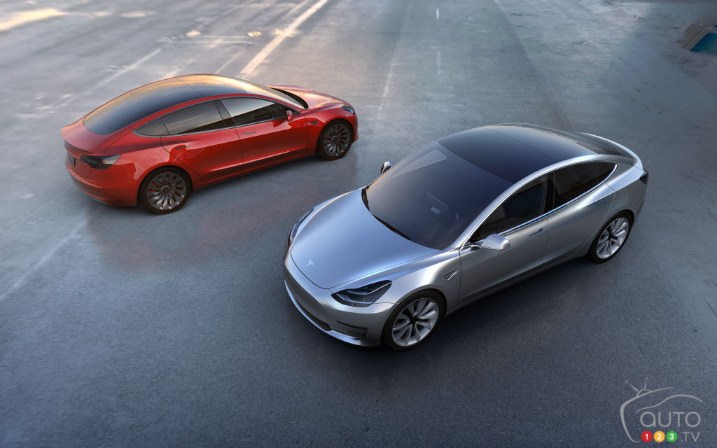 Pre-bookings open in India for Tesla Model 3
