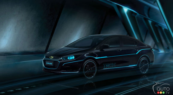"{u'en': u'The Chevy Cruze inspired by Disney\'s ""TRON: Legacy""'}"