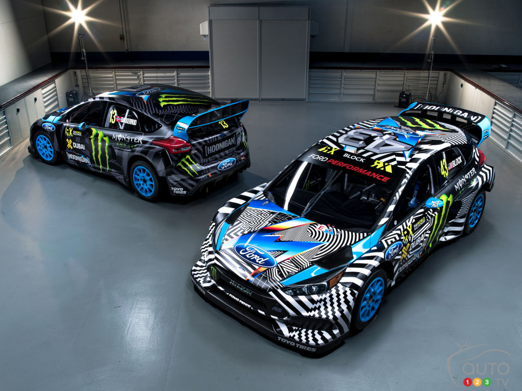 New Ford Focus Rs Rx To Be Driven By Ken Block Is Unveiled Car News Auto123