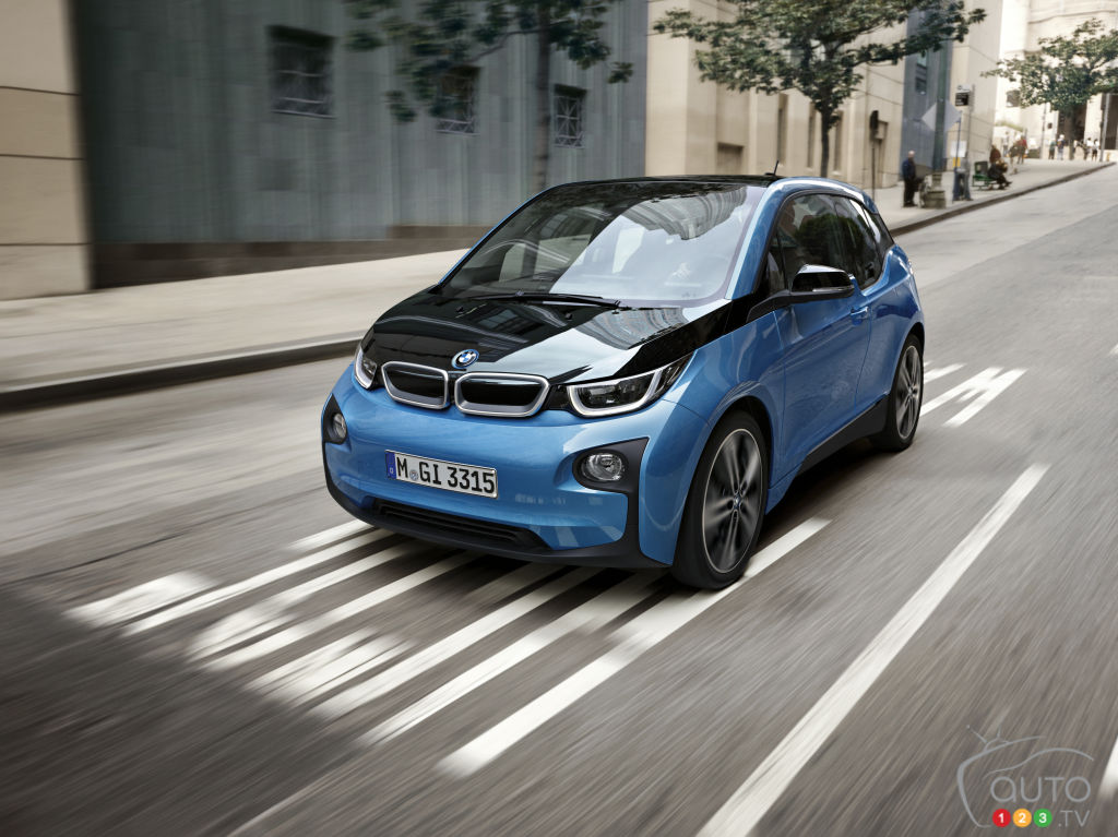 2017 BMW i3 to offer larger battery, up to 200 km of range