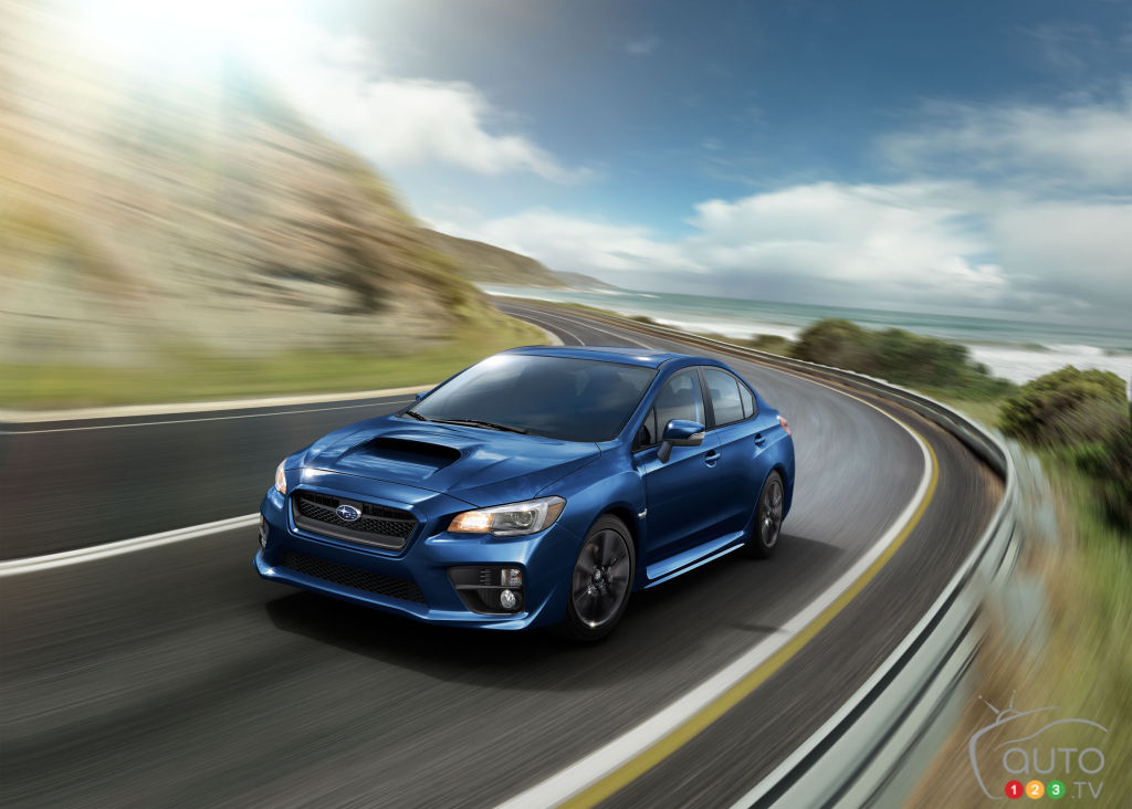 2017 subaru wrx wrx sti announced for canada car news auto123. Black Bedroom Furniture Sets. Home Design Ideas