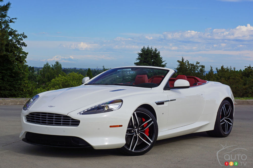 Aston Martin DB GT Volante In A Word Blissful Car Reviews - Db9 aston martin