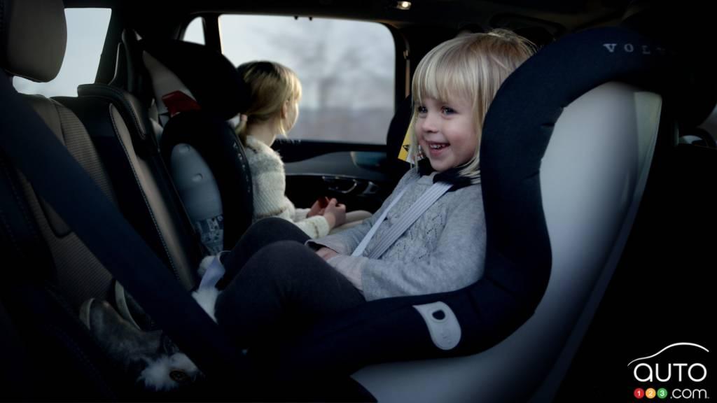 Volvos Next Generation Child Seats To Improve Safety
