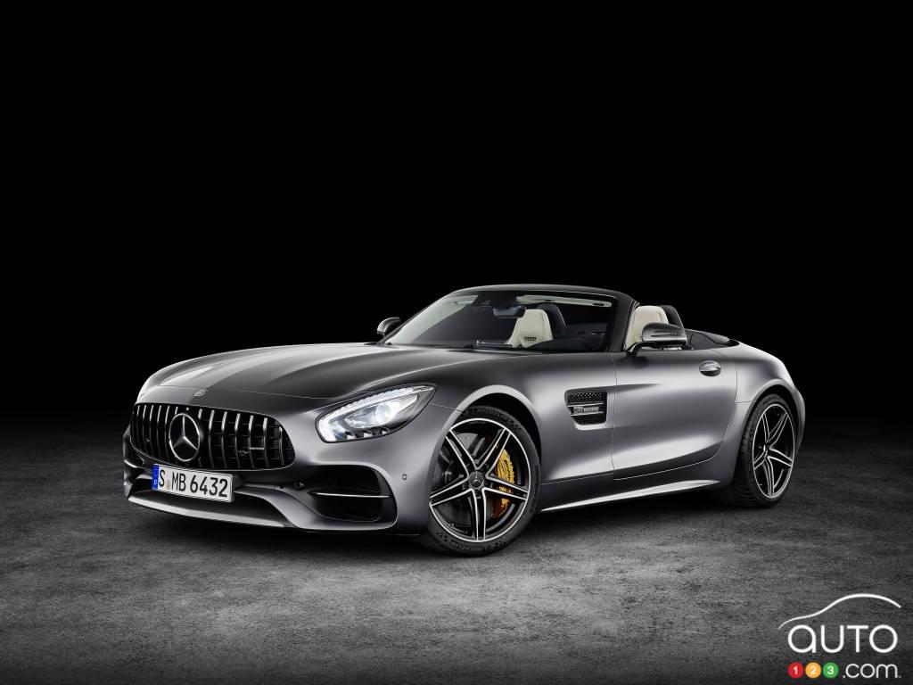 La Mercedes-AMG GT accouche de 2 superbes roadsters