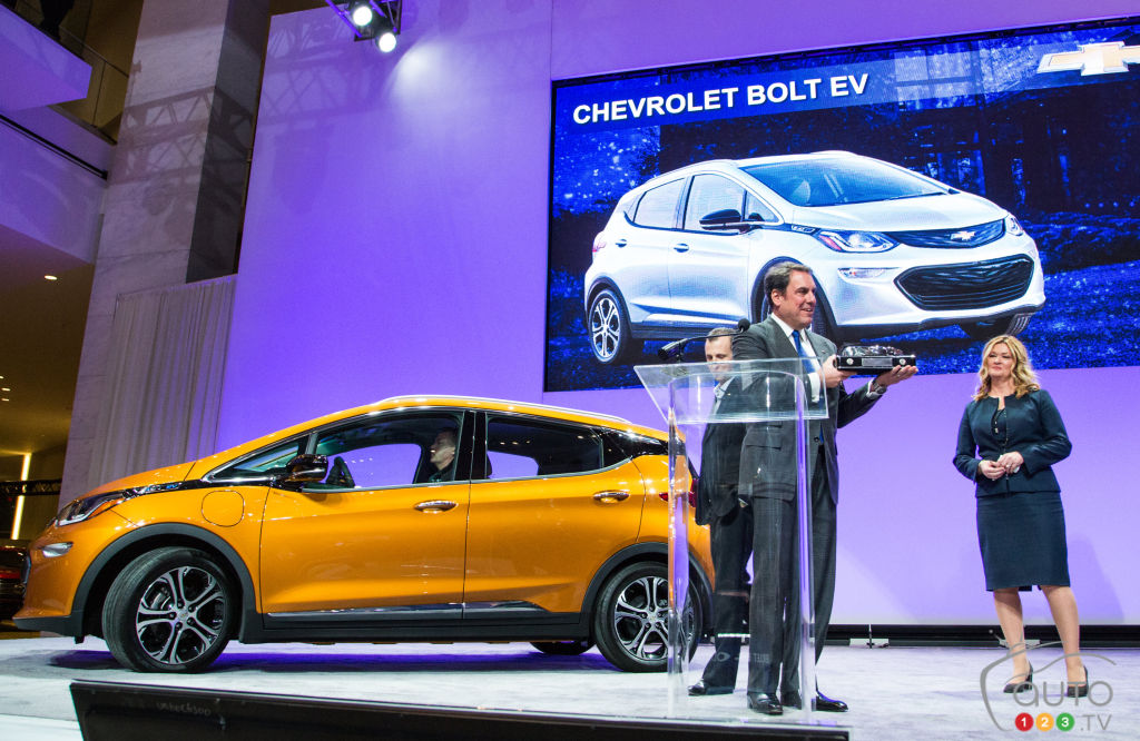 Chevy Bolt, 238 Miles Per Charge, Equals Tesla Only